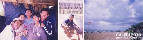 Foto bareng penyu di Tanjung Benoa