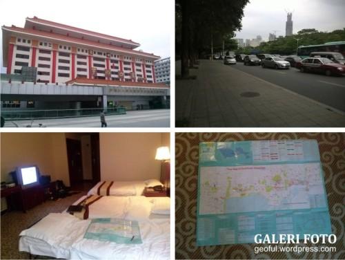 Hari pertama di Shenzhen