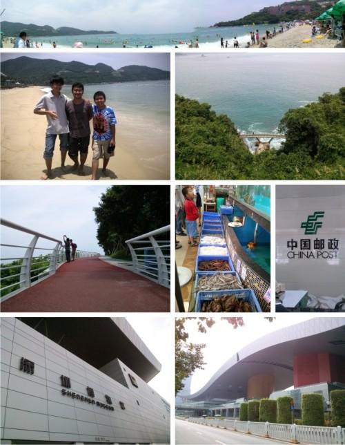 Pantai, seafood, pos dan museum
