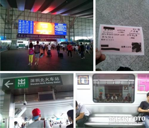 Menuju Guangzhou