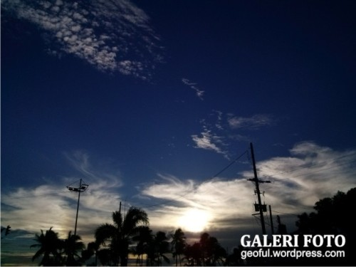 Sunset di Manila