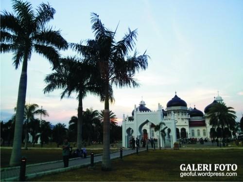 MAsjid Baiturrahman - Banda Aceh