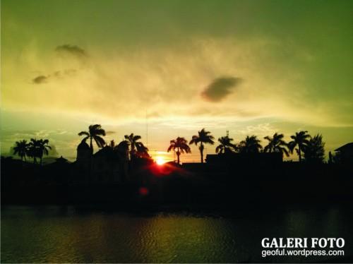 Sunset di Banda Aceh